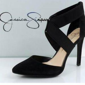 Jessica Simpson faux suede pumps. Size 6.5